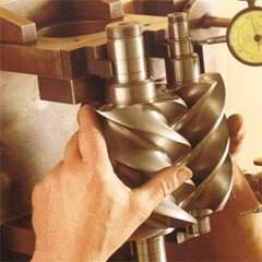Основные виды винтовых компрессоров